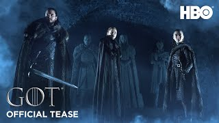 VIDEO: GAME OF THRONES S8 – Off. Tease: Crypts of Winterfell