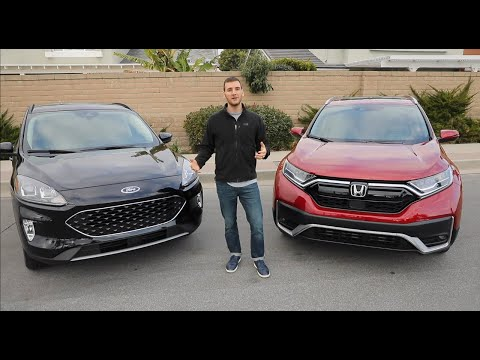 2020 Honda CR V vs 2020 Ford Escape Review
