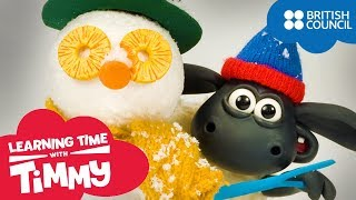 Make a Snowman | Learning Time with Timmy | Fun Cartoons For Children | Full Episodes