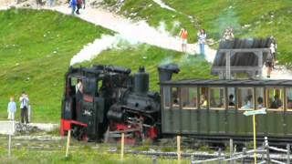 preview picture of video 'Schneeberg Schneebergbahn Salamander train Salamanderbahn Puchberg Holiday Austria mountain 5'