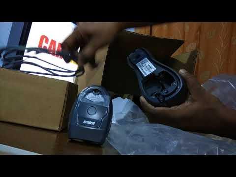 Unboxing Zebra Symbol Motorola LI4278 Wireless Barcode Scanner