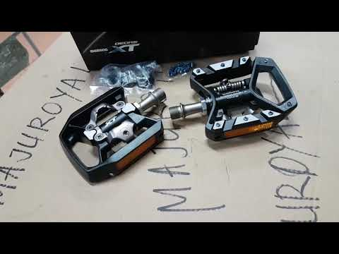 Pedal Cleat and Flat Shimano XT T8000