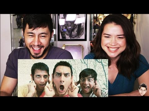 Download 3 IDIOTS trailer reaction review by Jaby & Achara! HD Mp4 3GP Video and MP3