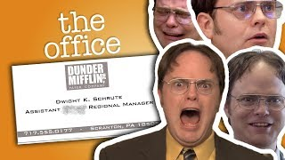 Dwight Schrute: Assistant (To The) Regional Manager - The Office US - Video Youtube
