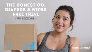 The Honest Company | How to Get a Free Trial Bundle of Diapers & Wipes $$ | Unboxing & Review
