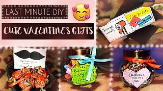 Last Minute Valentine Gift Ideas for Him & Her ❤ (Easy DIY Valentine Gifts 2017)