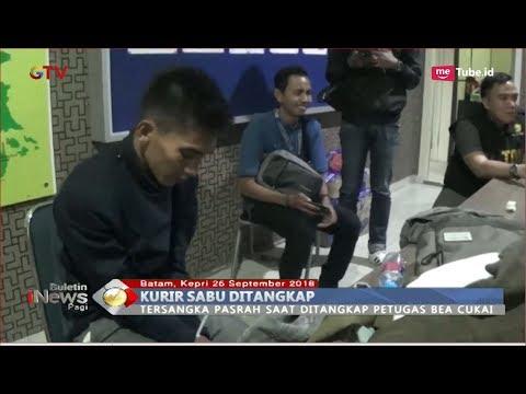Bawa 2 Bungkus Sabu, Kurir Narkoba Ditangkap Bea Cukai Batam - BIP 26/09