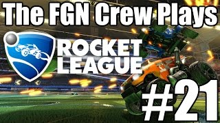The FGN Crew Plays: Rocket League #21 - PLUNGER Save! (PC)