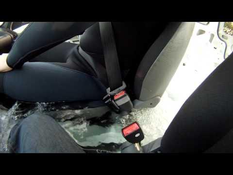 Automatic Seatbelt Release Frees You If You End Up Underwater