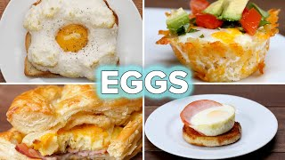 5 Egg Recipes For Breakfast Lovers • Tasty