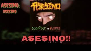 Asesino - Asesino (Lyrics) (HD)