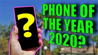 There was no phone of the year in 2020!