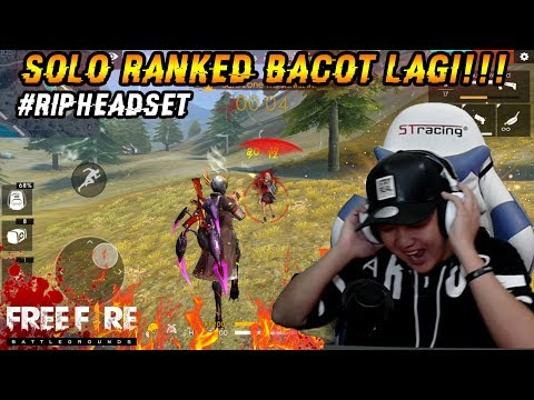 SOLO RANGKED TOP GLOBAL BACOT MODE ON AUTO PECAH KEPALA - FREE FIRE INDONESIA