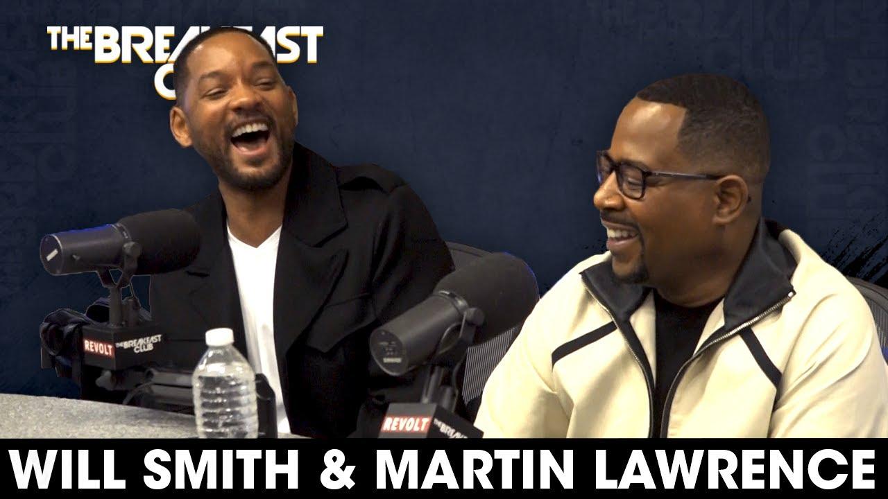 Will Smith & Martin Lawrence on The Breakfast Club #BadBoysForLife