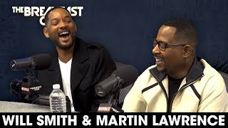 The Breakfast Club - Will Smith & Martin Lawrence Talk 'Bad Boys' Trilogy, Growth, Regrets + More
