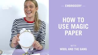 How to use Magic Paper