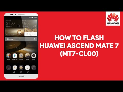 How To Flash Huawei Ascend Mate 7 MT7-CL00 - [romshillzz]