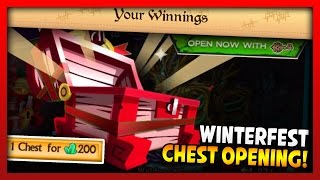 Knights and Dragons - LIMITED EDITION WINTERFEST CHEST! 200 GEM CHESTS OPENING MADNESS!