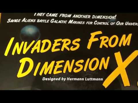 Invaders from Dimension X! (discussion/review)