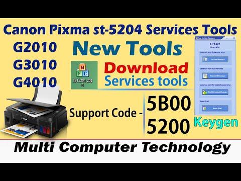 5B00 5B01 P07 P08 resetear Canon Pixma 5 times Service Mode