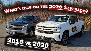 WHAT'S NEW ON THE 2020 SILVERADO ?  2019 vs 2020 Comparison - 5 THINGS TO KNOW BEFORE YOU BUY