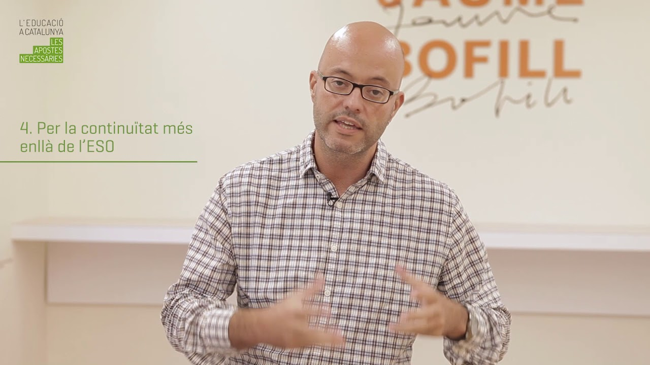 """Cicle de debats """"L'educació a Catalunya: les apostes necessàries"""". Miquel Àngel Alegre"""