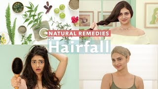 Stop Your Hair Fall Naturally | 3 Effective Solutions