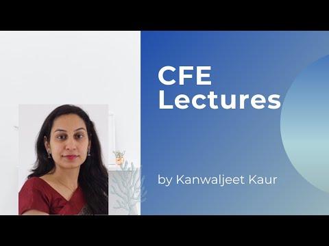 @CFE 2021 Exam prep course - YouTube