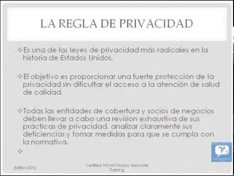 HIPAA Certification Training in Spanish Formación Básica HIPAA ...