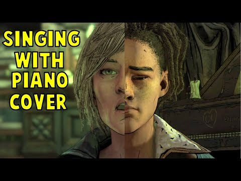 Violet Singing With Louis Piano's Cover (Don't Be Afraid) - The Walking Dead Final Season Episode 3