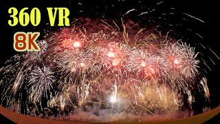 [ 8K 360VR ]NARITA Yell 花火「成田黄金伝説Yell版」Narita Yell Fireworks 2020