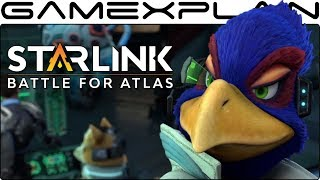 Starlink + Star Fox - Opening Cutscene (Peppy, Falco, & Slippy!) - dooclip.me