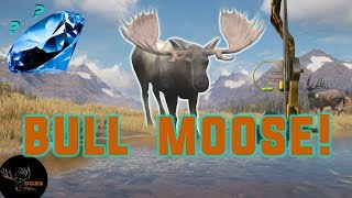 My BIGGEST BULL MOOSE Ever with the Bow!! Call of the Wild  THEHUNTER 2018
