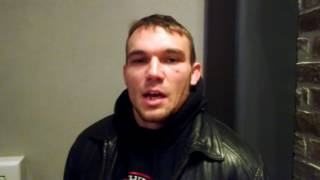 RFA 46 - Joseph Green/Joseph Carriker (JBH) Pre Fight Interview