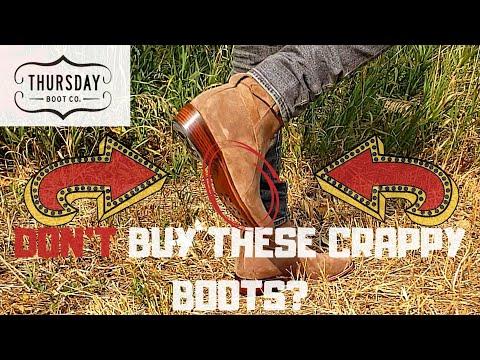 Thursday Rogue On Feet Review (Jodhpur Boots) Best Boots For Fall Men 2020?