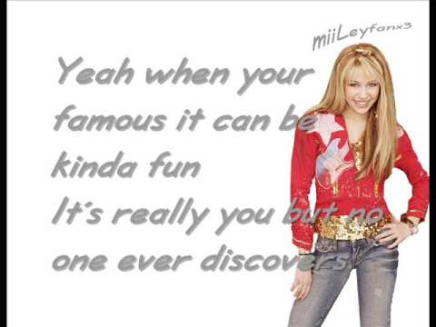 The Best of Both Worlds (Song) by Hannah Montana