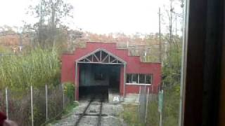 preview picture of video 'Funicular de Gelida ジェリダのケーブルカー前面展望2/2'