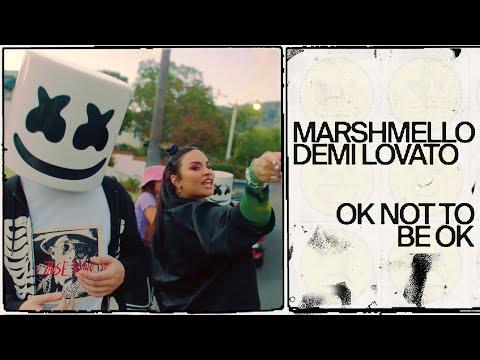 Demi Lovato y Marshmello unen fuerzas para OK Not To Be OK