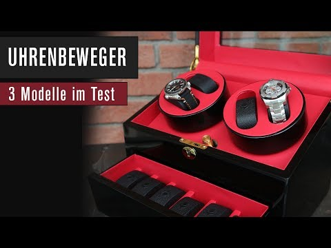 Uhrenbeweger Test: Drei Modelle von Klarstein! | Review | Deutsch