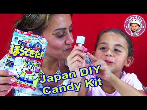 DIY EIS AM STIEL KAUBONBON | Japanese Candy Making Kit | CuteBabyMiley
