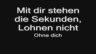 Rammstein   Ohne Dich (lyrics) HD