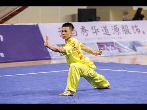 Men's huaquan 男子华拳 第2名 山西队 高晓彬 8.78分 shan xi gao xiao bin