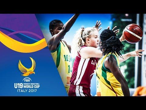 Mali v Latvia - Full Game - Classification 9-16 - FIBA U19 Women's Basketball World Cup 2017