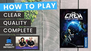 The Crew The Quest for Planet Nine Board Game - How to Play - Our BEST Trick Taking manual?