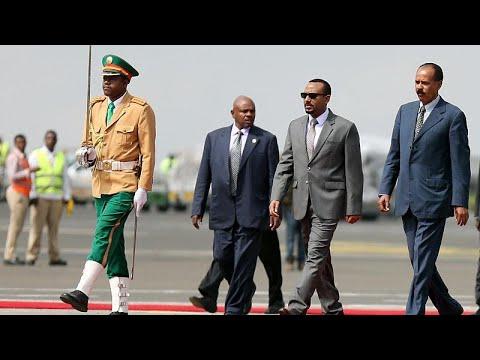 العرب اليوم - رئيس إريتريا يصل إلى إثيوبيا
