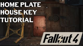 Fallout 4: Where To Find The HOME PLATE KEY (Diamond City)