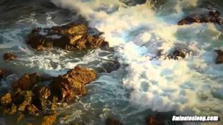 Ocean Waves Crashing on Rocks | White Noise To Help You Relax, Study or Sleep | Nature Video 10 Hrs