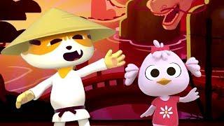 Súper Disco Chino - Las Canciones del Zoo 2 | El Reino Infantil
