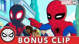 Meet Miles Morales! | Marvel Super Hero Adventures | BONUS CLIP