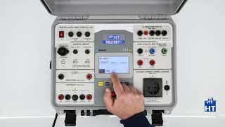 HT FULLTEST3 Tutorial - Prova di continuità dei conduttori di protezione con 200mA o 25A